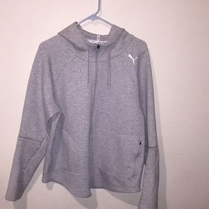 Puma zip up sweater